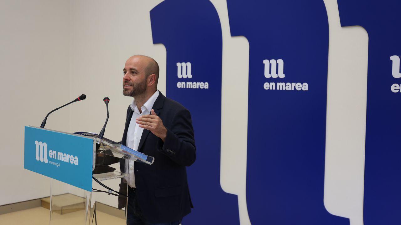 Milagros Otero: «No voy a dimitir».Milagros Otero en el Parlamento en una foto de archivo