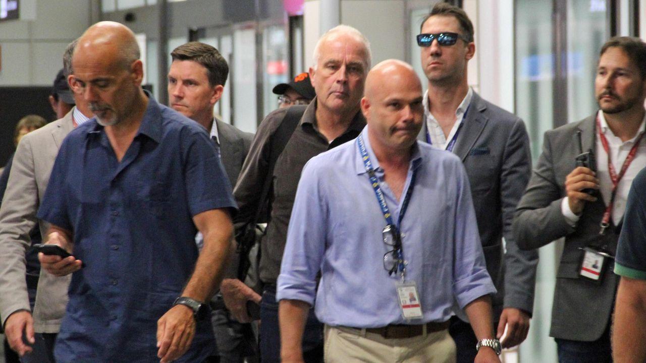 El padre de uno de los dos estadounidenses acusados de matar al carabinero en Roma, llega a la capital