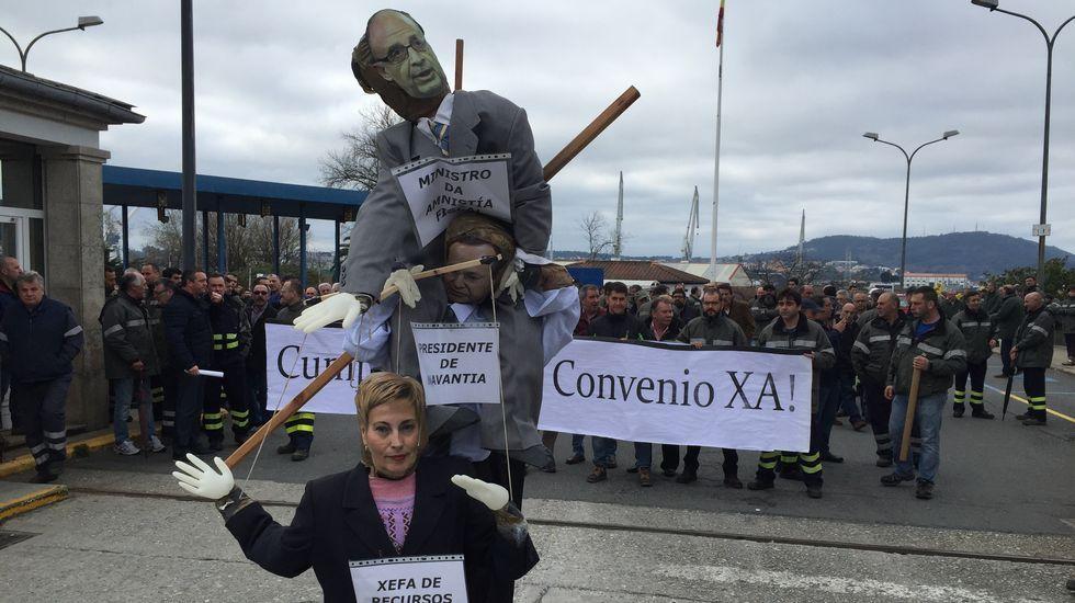 El naval vuelve a la calle y denuncia el crac económico de Navantia