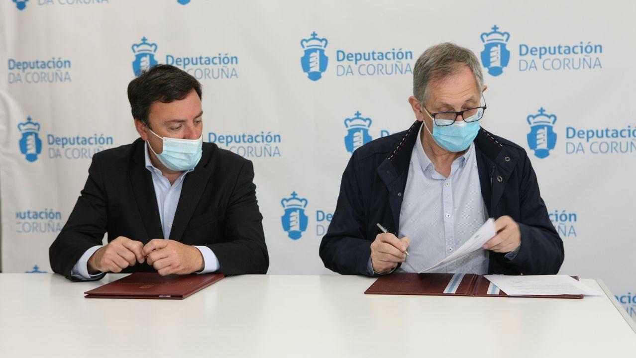 Firma del convenio con la Deputación para la cofinanciación de la Unidad Asistencial de Drogodependencias