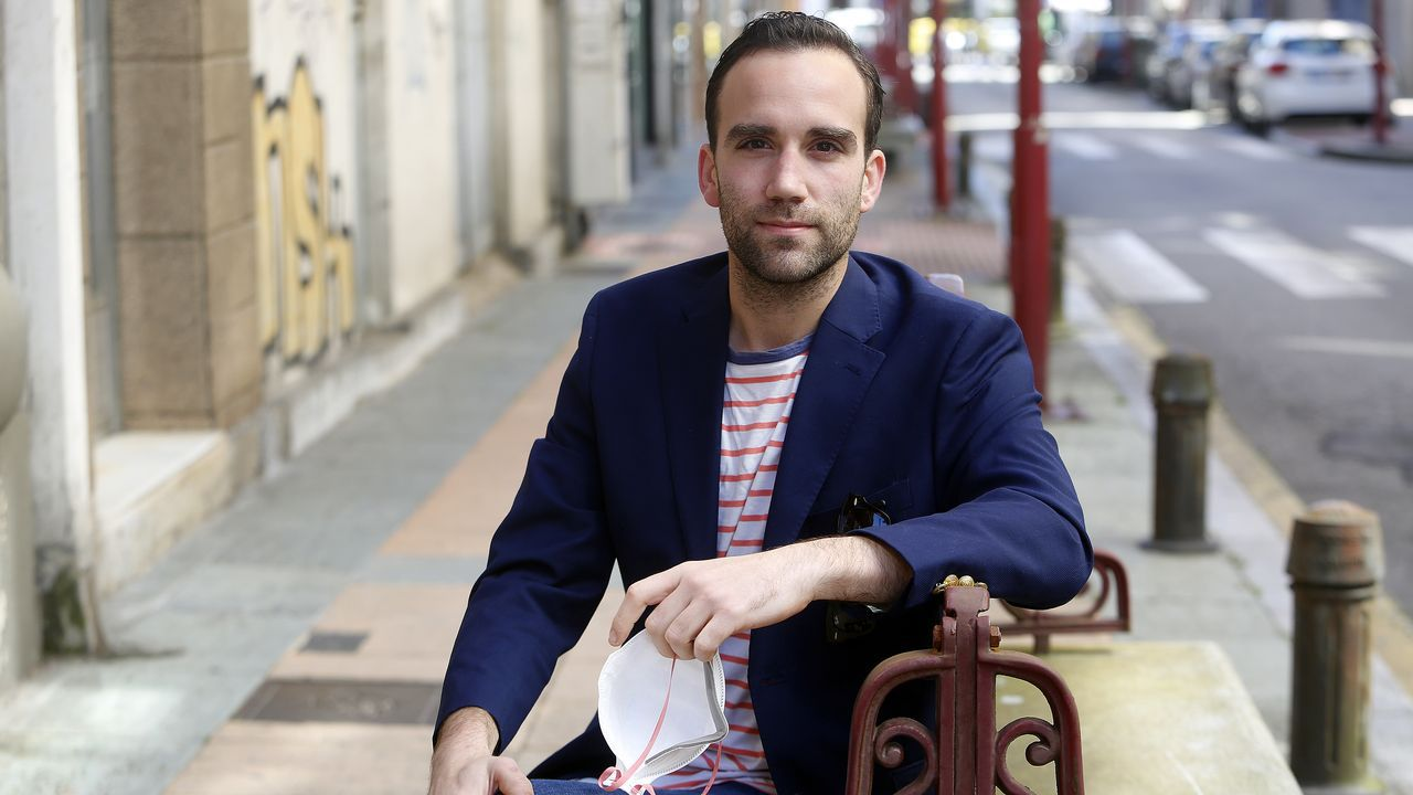 Gonzalo Lagarón había estado por última vez en Vilagarcía en enero del año pasado