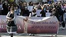 Manifestación de abril contra el archivo de las denuncias por el caso