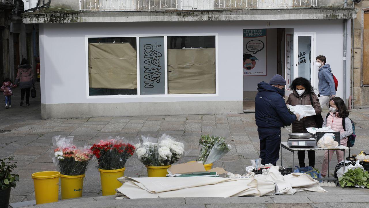 Inundaciones en O Temple.La franquicia Japón Market 24 horas abrirá una tienda en Viveiro el próximo miércoles