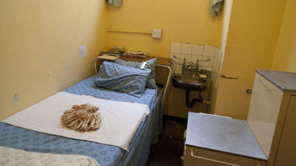 Celda de la prisión de máxima seguridad de Pretoria en la que estuvo preso Oscar Pistorius