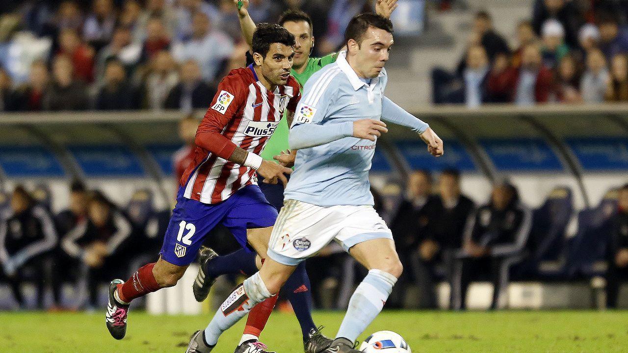 175 - Celta-Atlético (0-0) de Copa el 20 de enero del 2016
