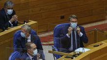 Feijoo, en la sesión constitutiva del Parlamento