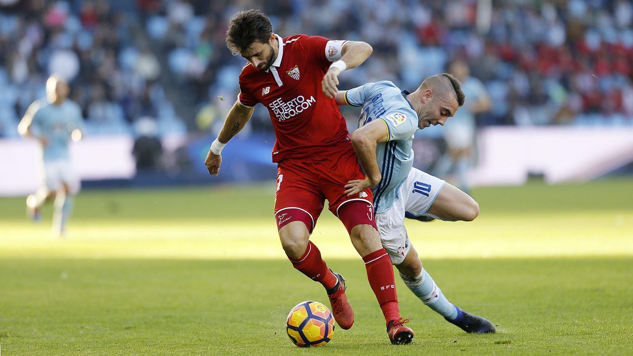 211 - Celta-Sevilla (0-3) de Primera el 11 de diciembre del 2016