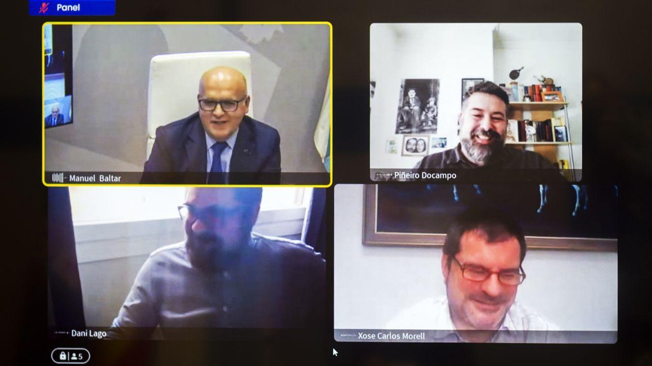 La reunión tuvo lugar a través de videoconferencia