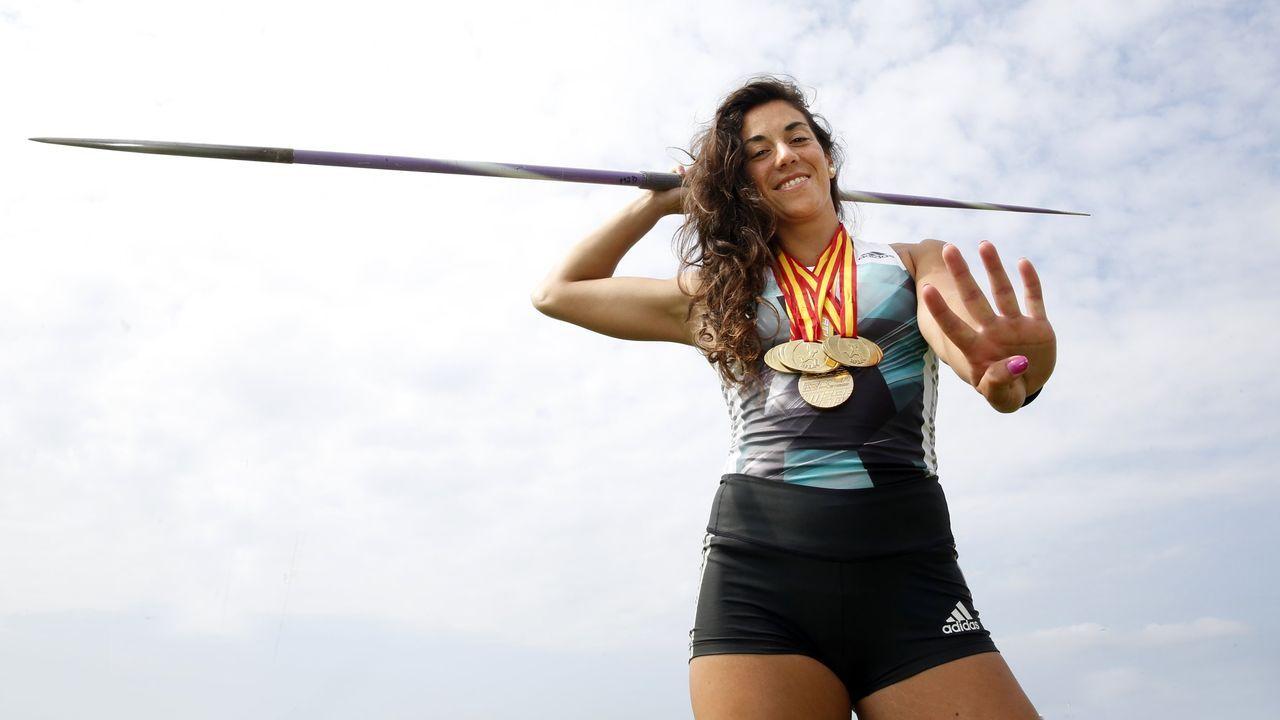 Lidia Parada, atletismo
