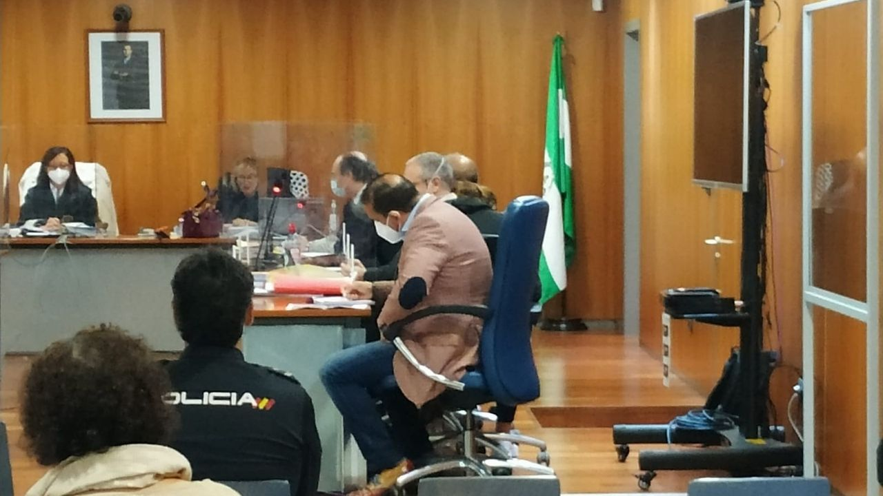 Vista del juicio con jurado celebrado este lunes en Málaga