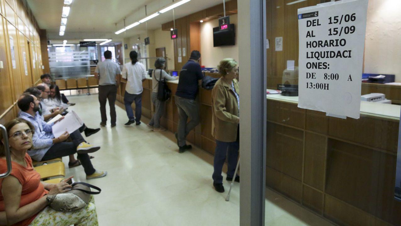 Servicios de Hacienda en el Concello de Ferrol