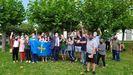 Los vecinos de Somao celebran haber recibido el premio de Pueblo Ejemplar 2020