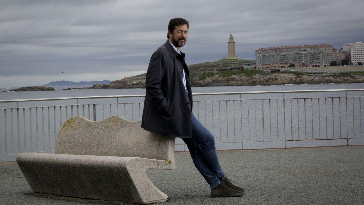 El Rey recibe en Zarzuela a las presidentas del Congreso y del Senado.Errejón, ayer en A Coruña