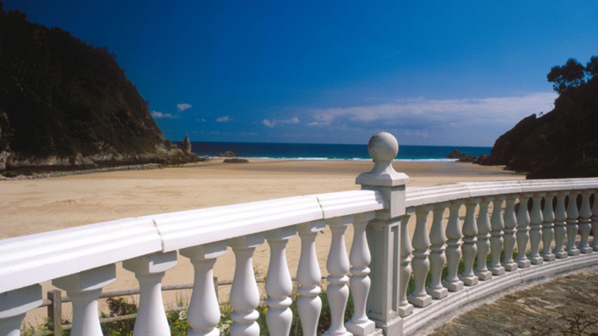 Playa de la Franca, en Ribadedeva