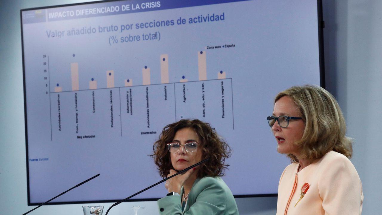 El vicepresidente del Gobierno y líder de Podemos, Pablo Iglesias