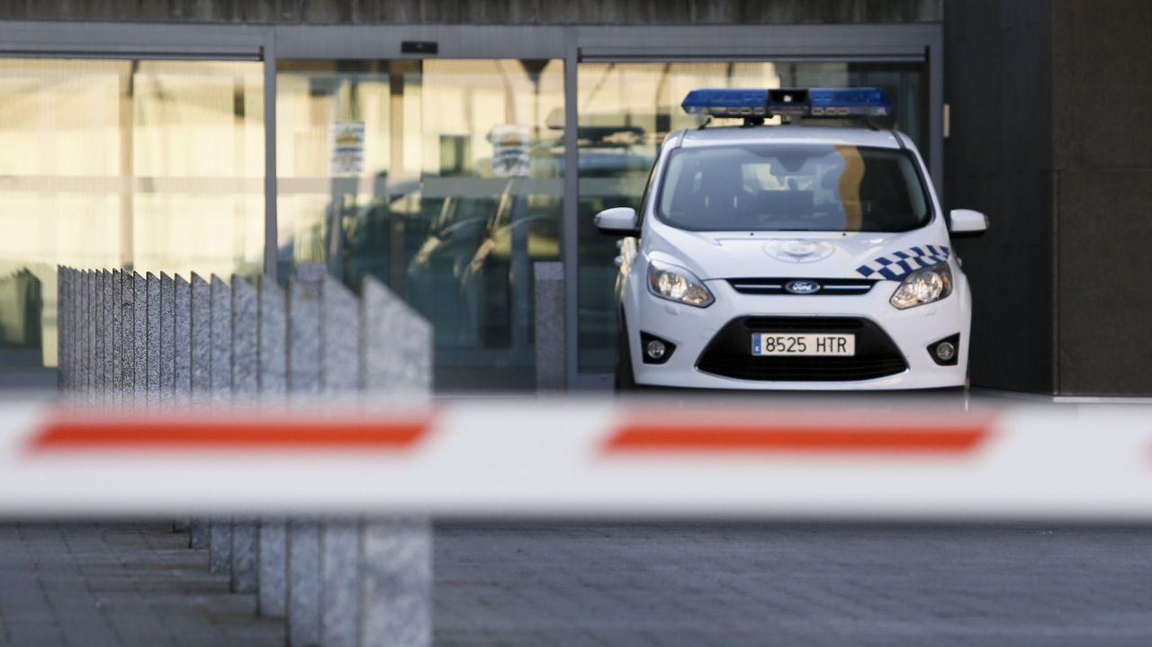 El conductor fue descubierto por una patrulla de la Policía Local de Lugo