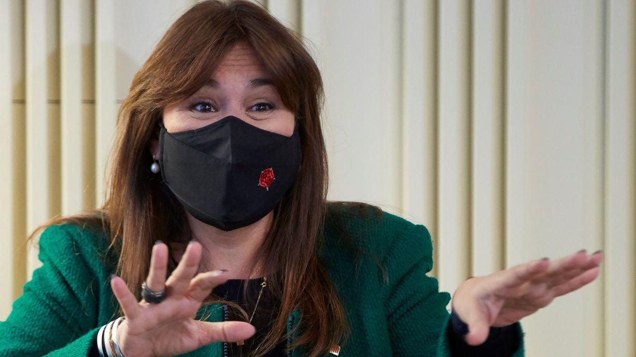 Laura Borràs, presidenta del Parlamento catalán
