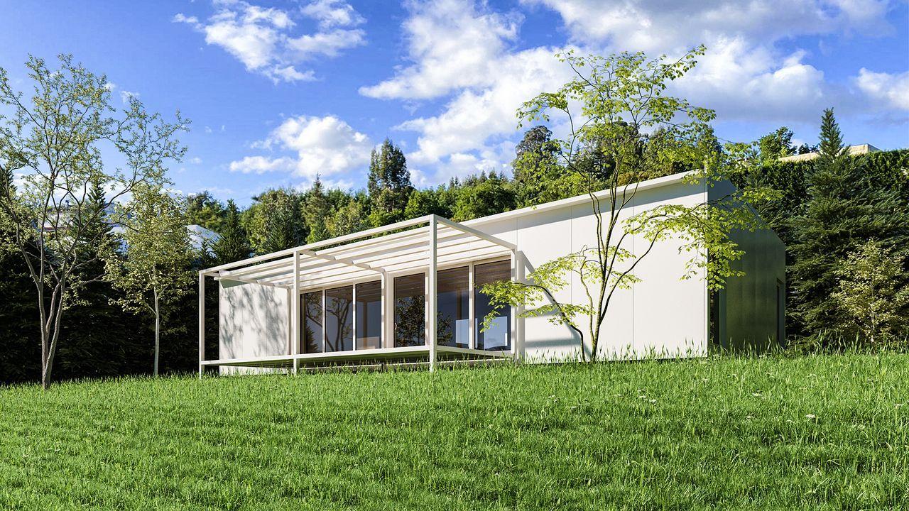 Las casas pasivas de Jorreto se adaptan a cualquier tipo de terreno