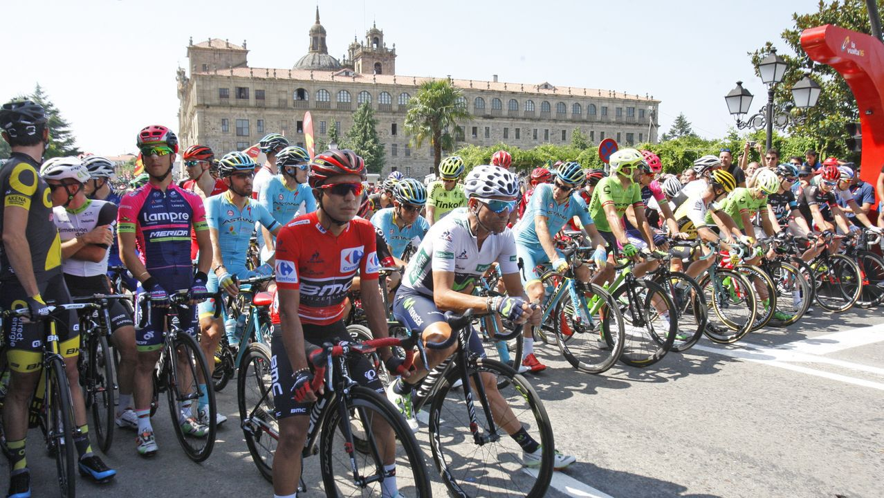 Las carreteras más bonitas de España.Monforte fue salida de la sexta etapa de La Vuelta del 2016