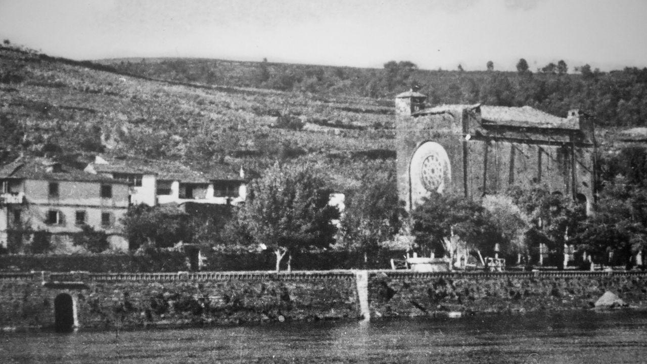 Castromaior, un castro con unas vistas privilegiadas del centro de Lugo.La fortaleza de San Nicolás fue trasladada piedra por piedra al nuevo pueblp