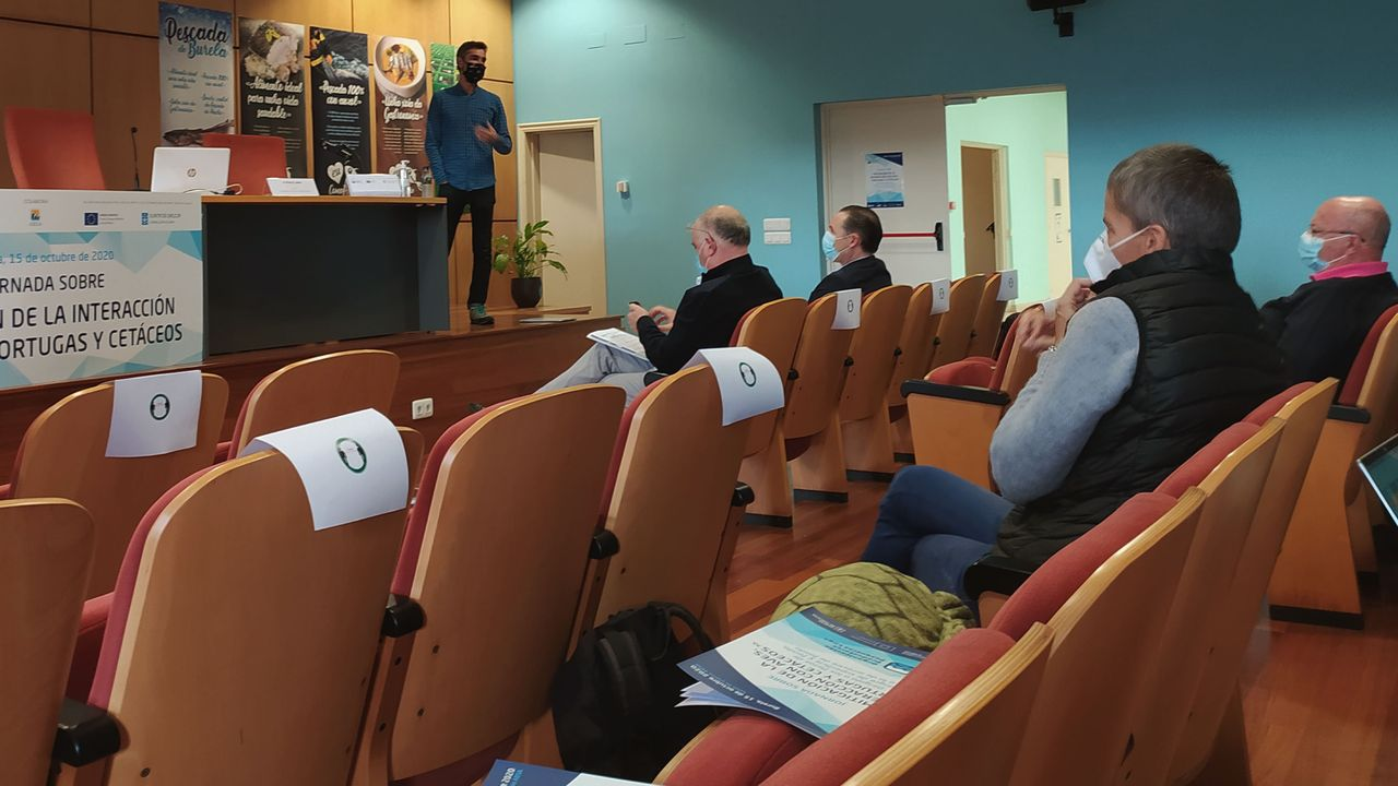 Otro taller organizado por la OPP de Lugo, celebrado el pasado día 15 en la sede de Armadores de Burela