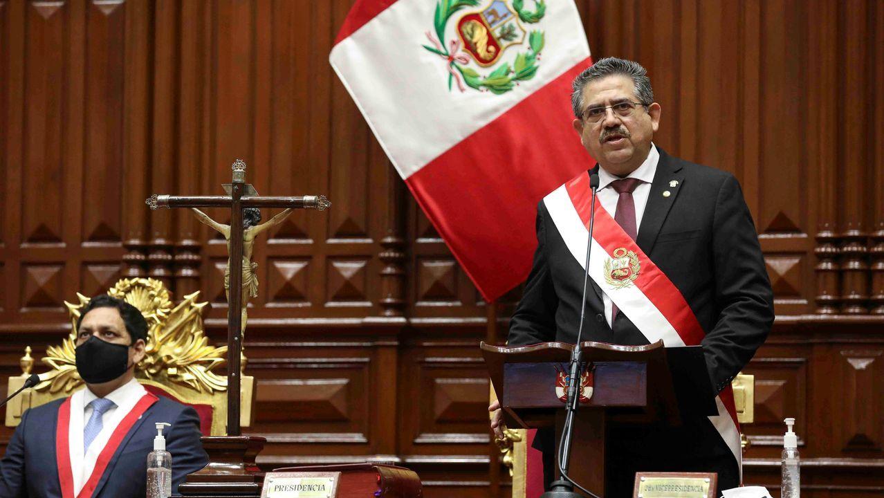 Manuel Merino, nuevo presidente de Perú