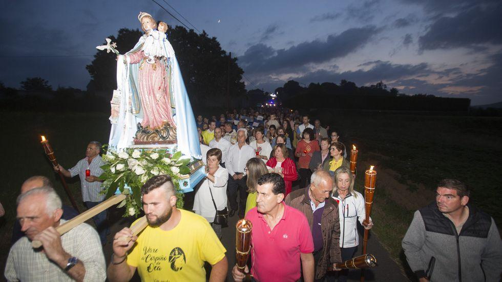 La procesión de las antorchas de la Virgen del Corpiño, ¡en imágenes!.Clarisa Couto