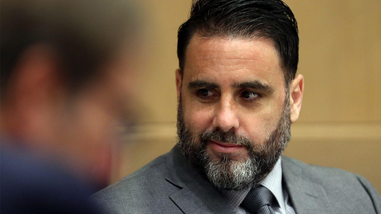 Pablo Ibar, durante el juicio en Fort Lauderdale, Florida