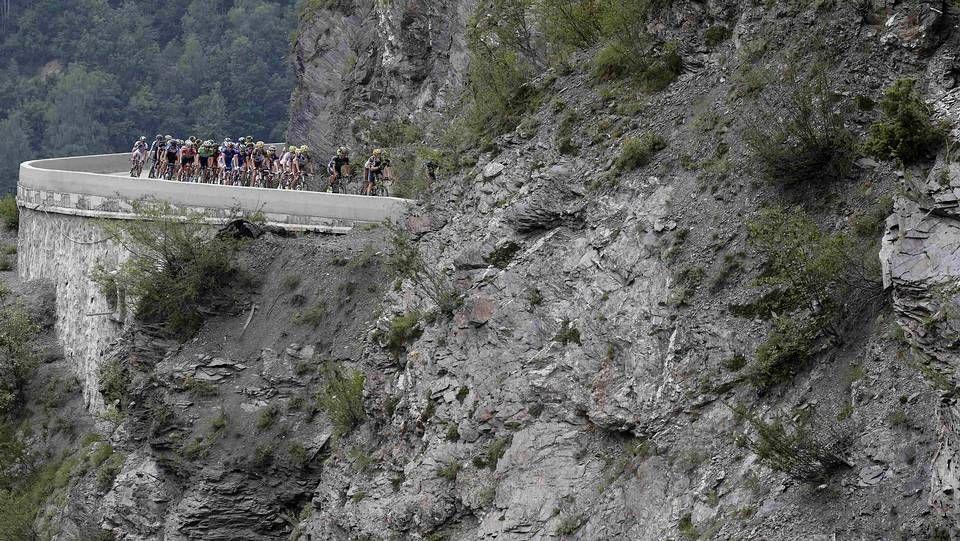 La belleza de la montaña en el Tour de Francia