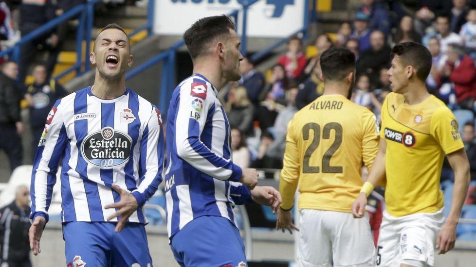 El Deportivo 0 - Espanyol 0, en fotos