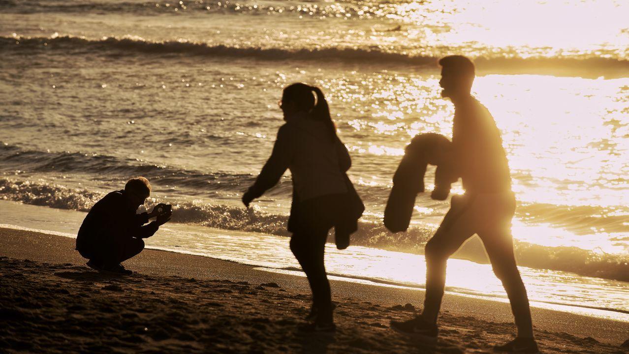 Altas temperaturas en Galicia.Surf en Asturias