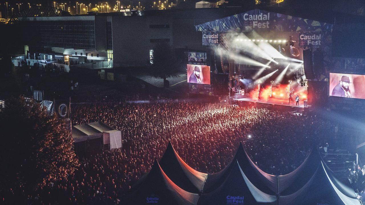 Más de 32.000 personas acudieron al Caudal Fest de Lugo en el 2019