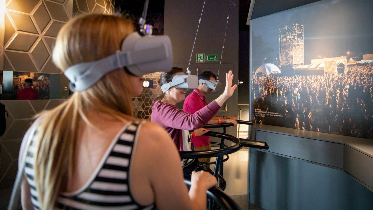 Los visitantes podrán sentirse artistas por un día gracias a la realidad virtual
