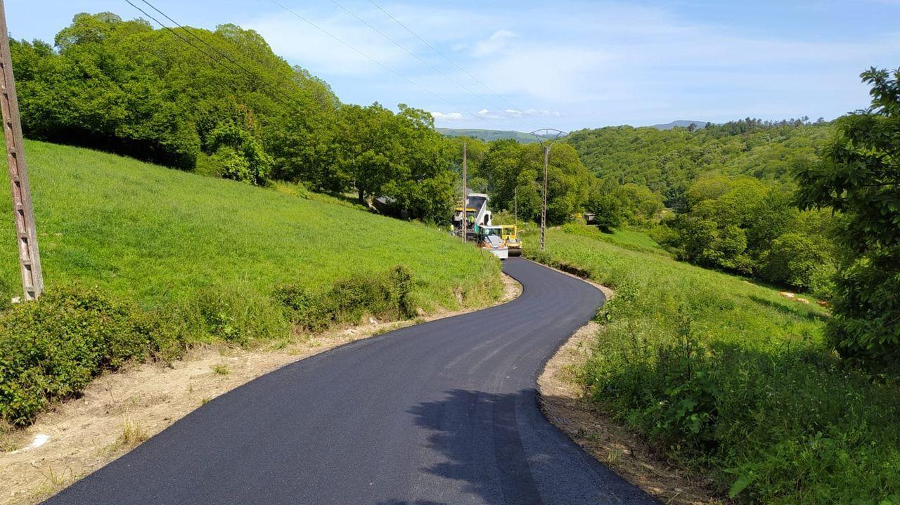 Las obras afectan un tramo de carretera de 465 metros de longitud
