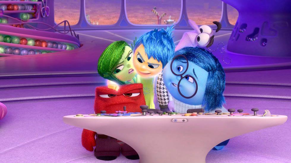Tráiler de «Inside Out».Personajes de la película «Inside Out» que representan las emociones