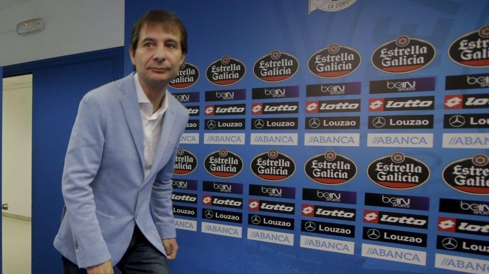 Garitano: «Luisinho es un jugador válido deportivamente».Pedro Mosquera, en Nueva York