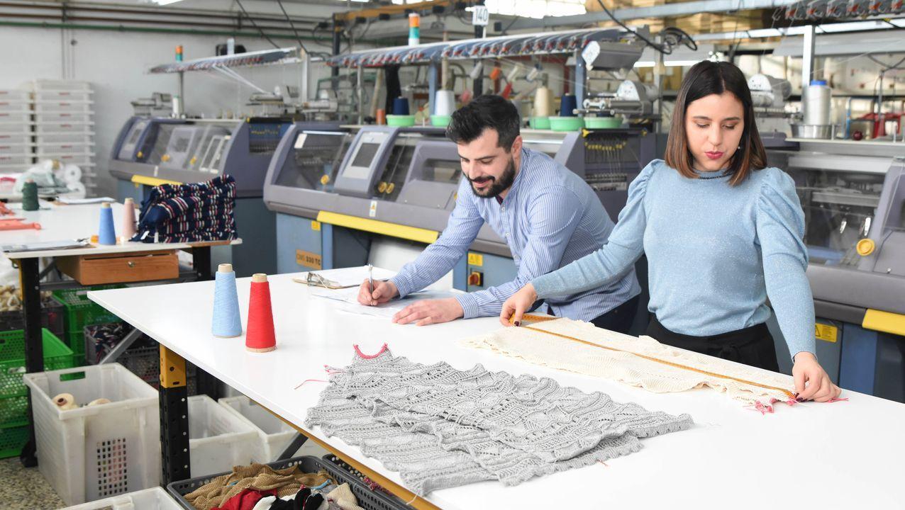 Roberto y Paula Montoto crearon su empresa textil en el año 2011 siguiendo la estela familiar