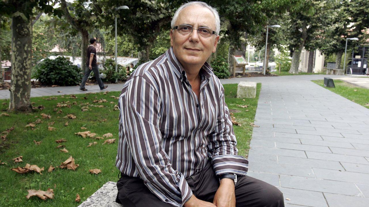 José Peleteiro fue director del departamento de Física Aplicada de la Universidad de Vigo