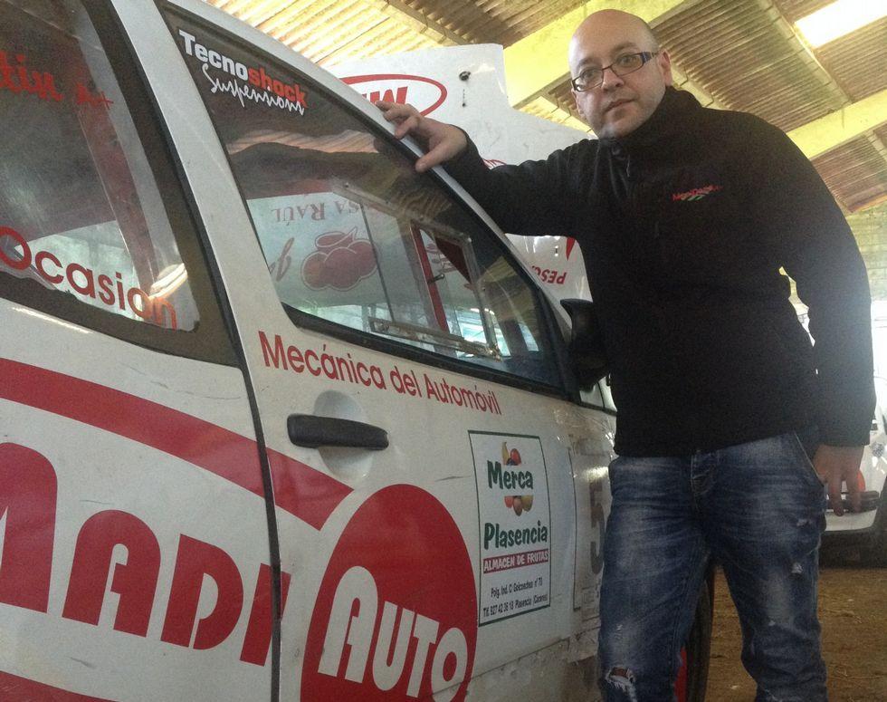 Javier Guitián correrá esta temporada con un Citröen C2 VTS.