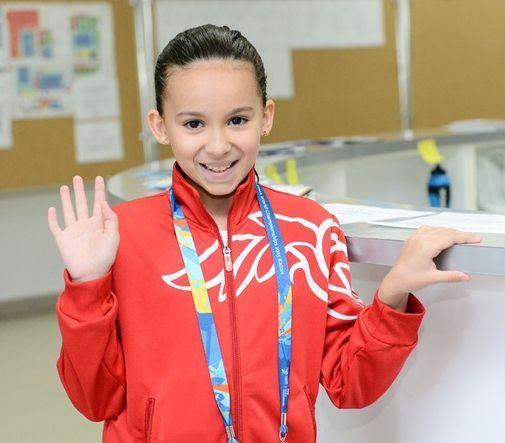 Alzain Tareq competirá en dos pruebas durante los Mundiales.