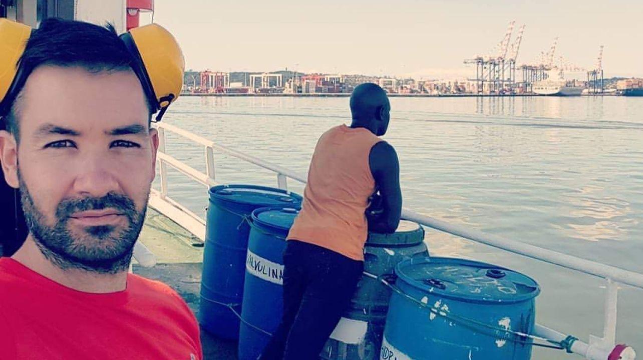 Muere un marinero de Ribeira en un incendio ocurrido en un barco en Mozambique