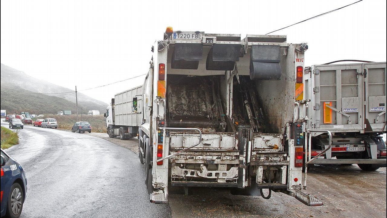 Géiser.camión basura