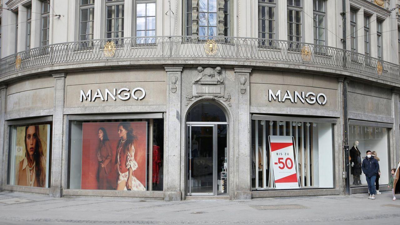 Una tienda de Mango en Múnich, Alemania