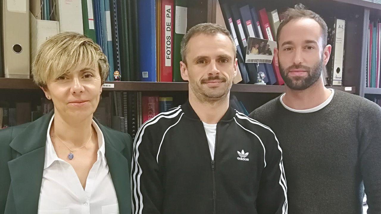 Ana Coto, Ignacio Vega-Naredo y Juan Carlos Bermejo-Millo