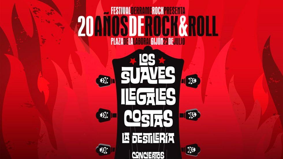Un cartel irrepetible para festejar los 20 años del Derrame Rock.La reconquista, de Jonás Trueba