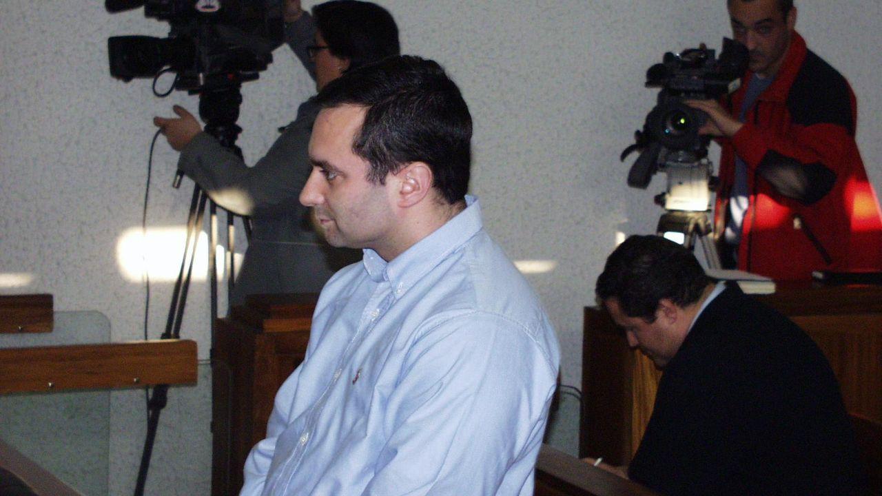 Juan Guaidó, junto a la ministra de Exteriores española, durante la visita del 25 de enero a Madrid