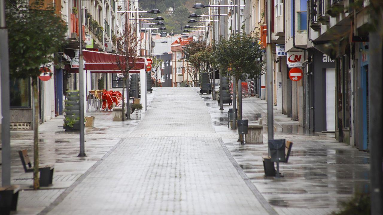 El estado de alarma queconfinó Barbanza.El tenista asturiano Pablo Carreño