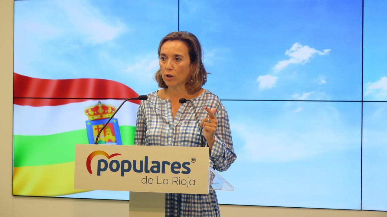 Cuca Gamarra dijo que en la comunidad gallega Galicia Suma ya es el PP