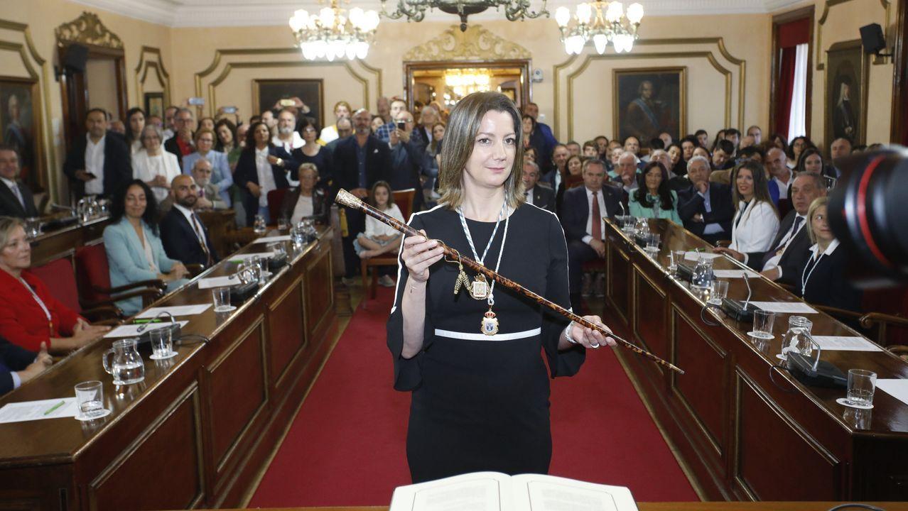 La Xunta felicitó hoy a los arqueros por su profesionalidad y por el buen trabajo que han hecho para controlar la población de jabalíes