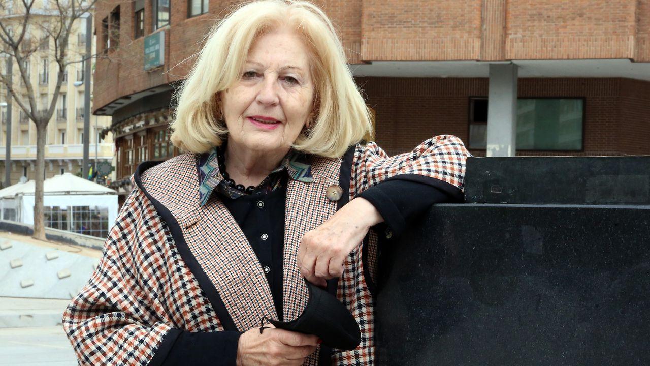 María del Carmen Lovelle, unha das primeiras mulleres parlamentarias en Galicia, reside agora en Madrid